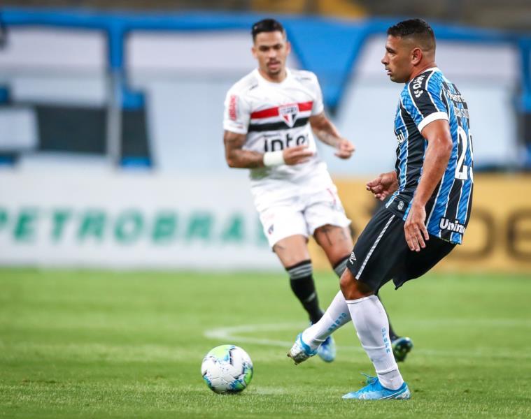 Grêmio é derrotado pelo São Paulo na Arena em Porto Alegre