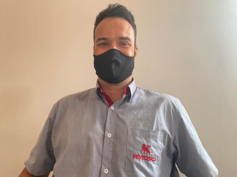 Leno Pedrotti, responsável pela loja em Santa Cruz do Sul