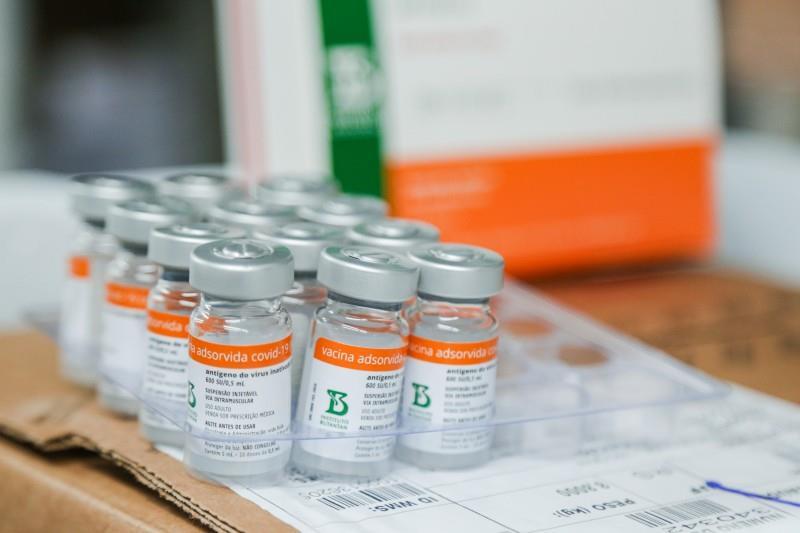 Ministério da Saúde planeja distribuir aos Estados um lote com mais 4,8 milhões de doses da Coronavac