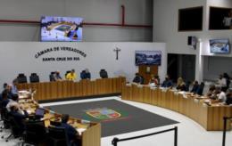 Legislativo de Santa Cruz realiza sessão na manhã desta quinta