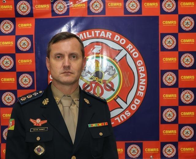 Tenente Coronel Marmitt assumiu o 6º BBM