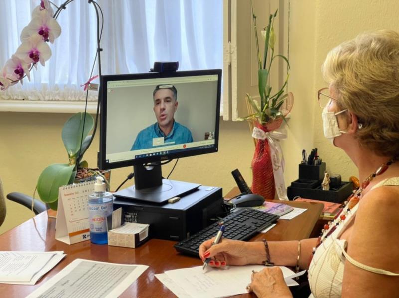 Helena Hermany tratou sobre a possibilidade da em duas reuniões na tarde desta terça-feira