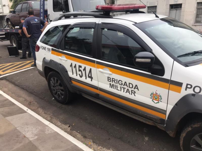BM localizou o veículo furtado no início de março
