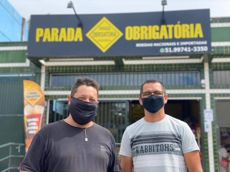 Amigos de longa data, Rogério Machado e Rogério Spengler apostaram na sociedade para investir no negócio