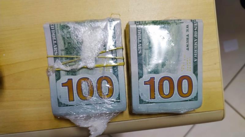 PRF prende um jordaniano e 2 brasileiros com mais de 30 mil dólares sem procedência em Bagé