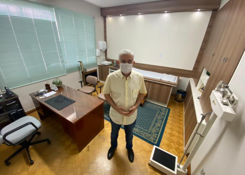 Neori atua como médico no Vale do Rio Pardo há mais de 30 anos