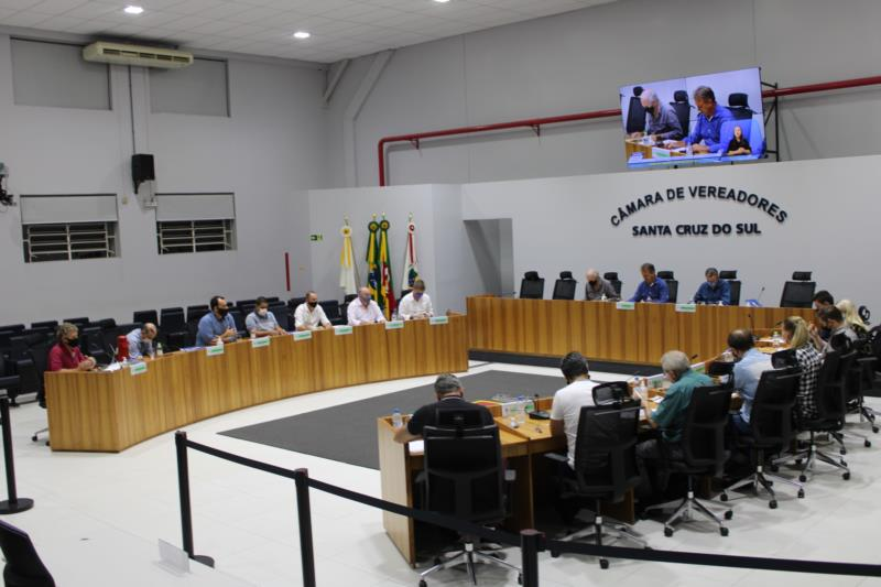 Legislativo santa-cruzense tem reunião no Plenário, às 16h