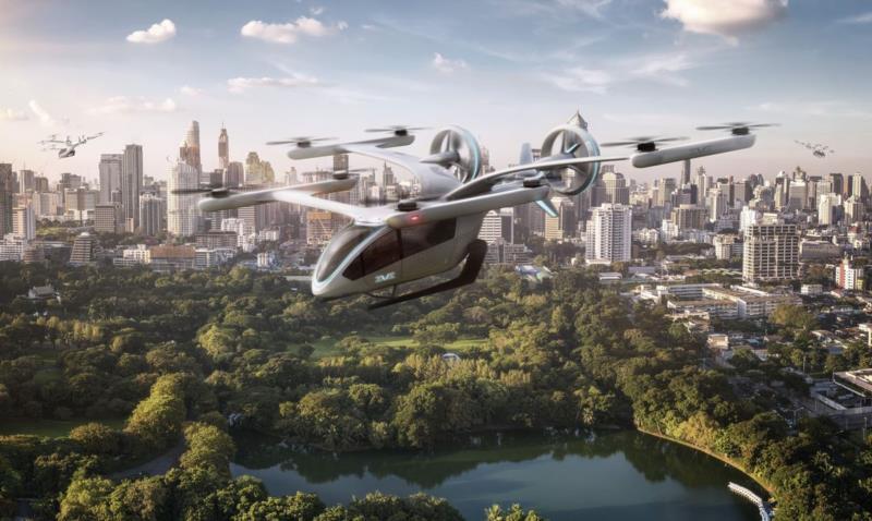Veículo de decolagem e pouso vertical será destinado a passageiros