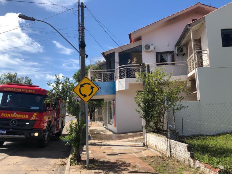 Princípio de incêndio atinge residência no Centro de Venâncio Aires
