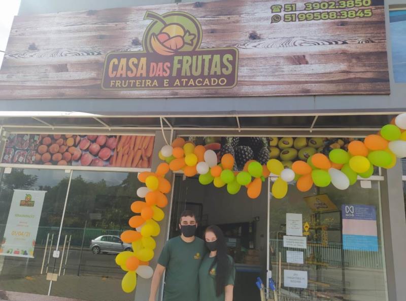De cara nova, Casa das Frutas reinaugura em Santa Cruz