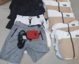 BM de Santa Cruz prende uma mulher e apreende uma adolescente após furto de roupas