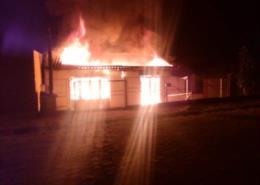Estúdio de música pega fogo em Santa Cruz