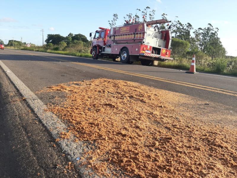 Colisão entre caminhonete e motocicleta resultou na morte de Rodrigo Grehs no dia 2 de abril