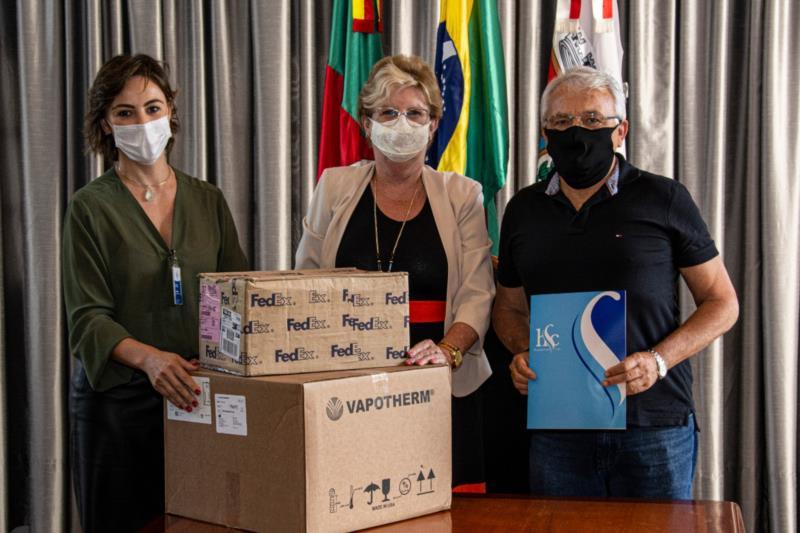 Miller Supermercados doa respirador ao Hospital Santa Cruz