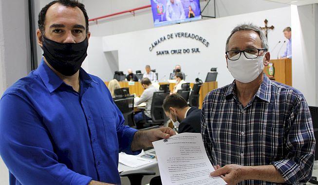 Leonel Garibaldi protocola pedido para ativar Tribuna Popular