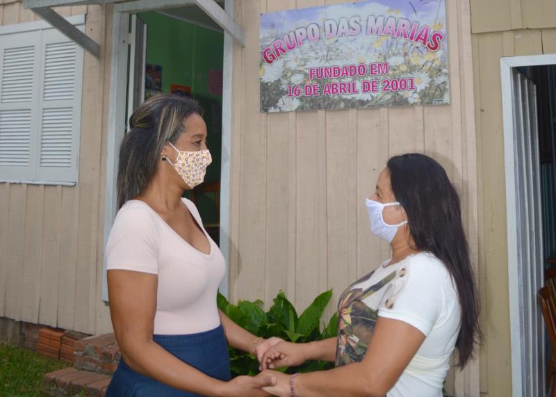 Além de ter recebido ajuda do Grupo das Marias, Roseli também criou um laço de amizade com Maria de Fátima