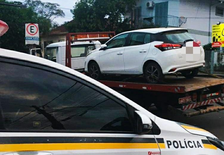 Em dois dias, dois veículos com a mesma condição foram encontrados no Município