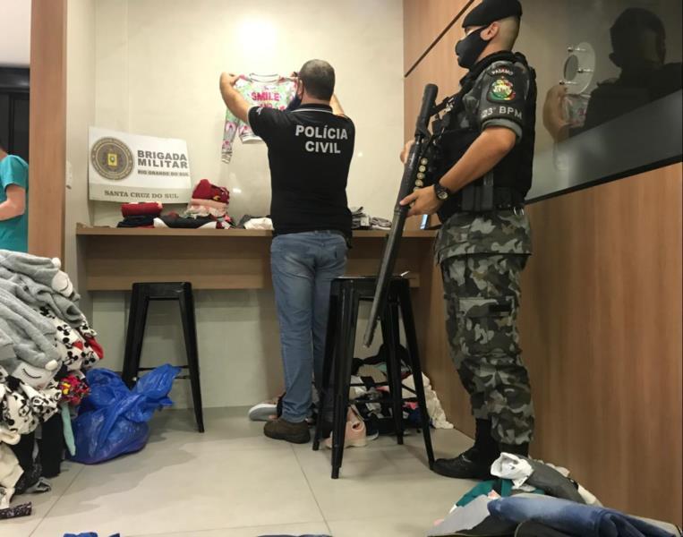 Quadrilha da Região Metropolitana é presa após furto em loja de Santa Cruz