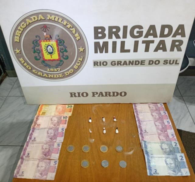 Adolescente é apreendido por tráfico de drogas em Rio Pardo