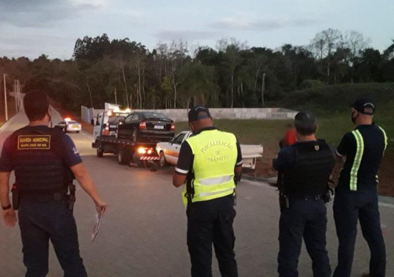Força-Tarefa flagra aglomerações nos bairros Goiás e Linha Santa Cruz