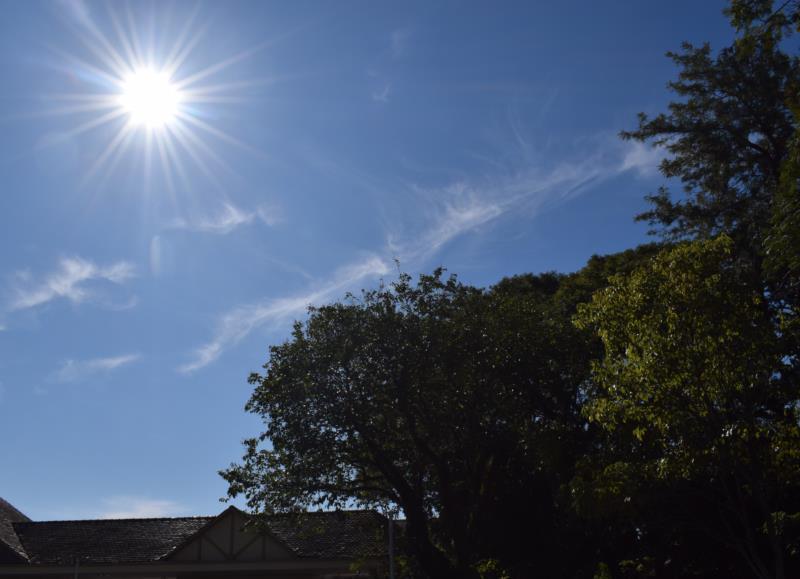 Semana será marcada por sol e tempo firme em Santa Cruz e região