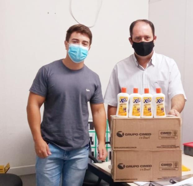 Prefeitura distribui repelentes contra o mosquito da Dengue