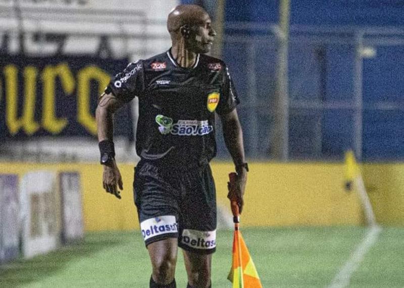 Juarez em partida do Campeonato Gaúcho