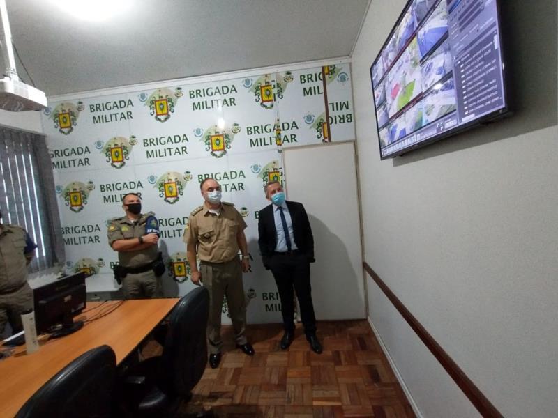 Proprietários de residências ou estabelecimentos comerciais podem interligar suas câmeras de monitoramento à polícia