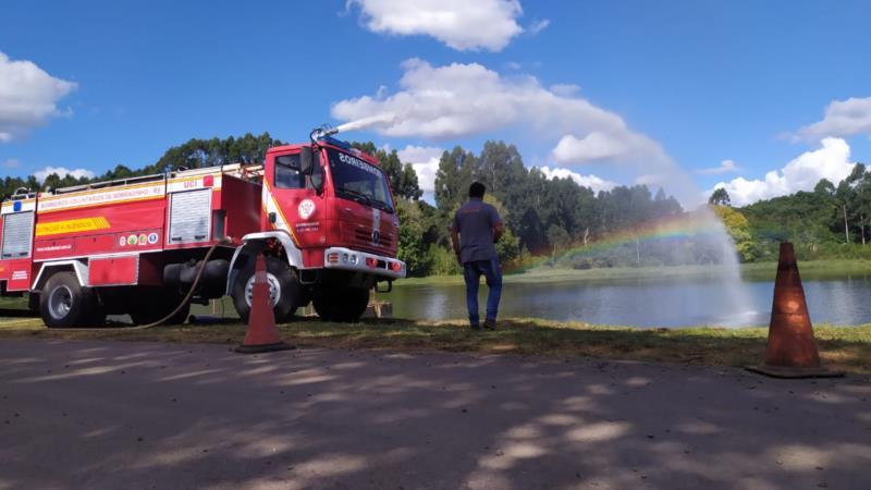 Bombeiros de Sobradinho integram novo caminhão de combate a incêndios