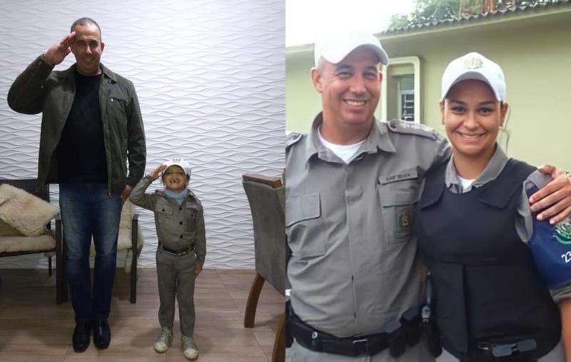 Comandante da 2ª Cia do Comando Rodoviário orgulha-se da trajetória da filha que, assim como ele, escolheu arriscar a vida pela comunidade