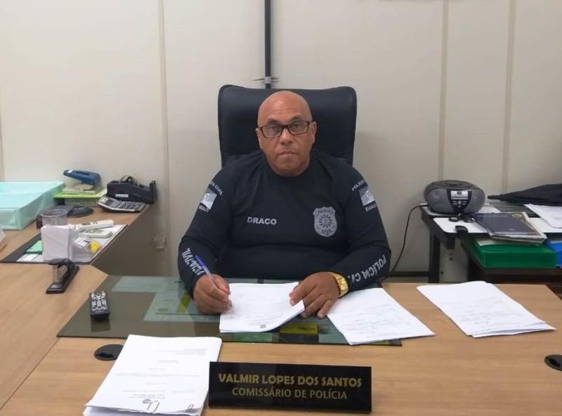 Na semana em que se comemora o Dia do Policial Civil, Comissário Valmir dos Santos conta trajetória de profissionalismo e honestidade