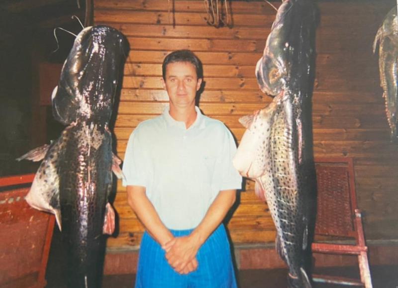 Entre suas paixões, a pescaria