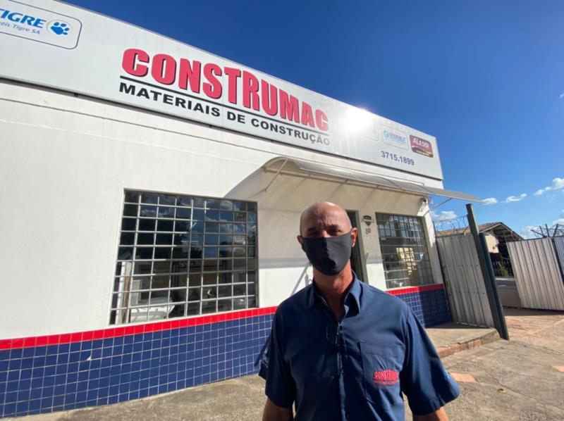 Roni Roberto Schuh, proprietário da Construmac