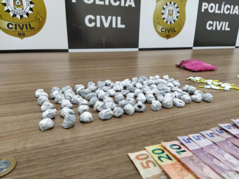 Ação da Polícia Civil foi realizada na manhã desta sexta-feira