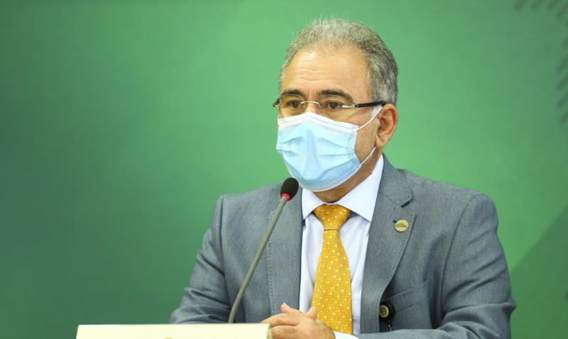 Anúncio foi feito pelo ministro da Saúde, Marcelo Queiroga