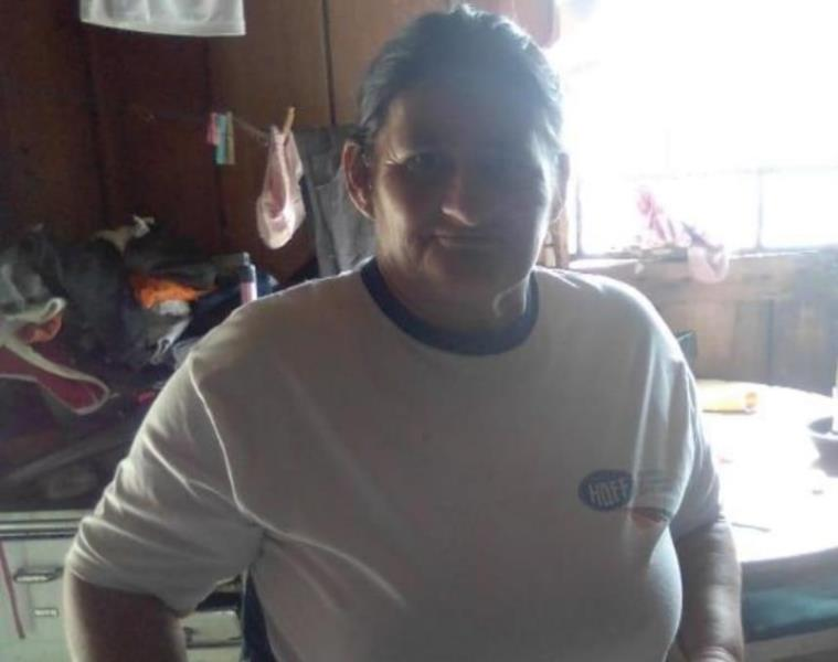 Noêmia Stoll saiu de casa na localidade de Arroio Bonito para tentar uma vaga de empreg