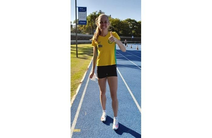 Com o tempo, a atleta se mantém na segunda colocação do ranking nacional de 202