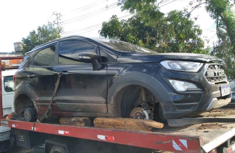 Apreendido mais um carro que teria sido usado em tentativa de resgate na Peva