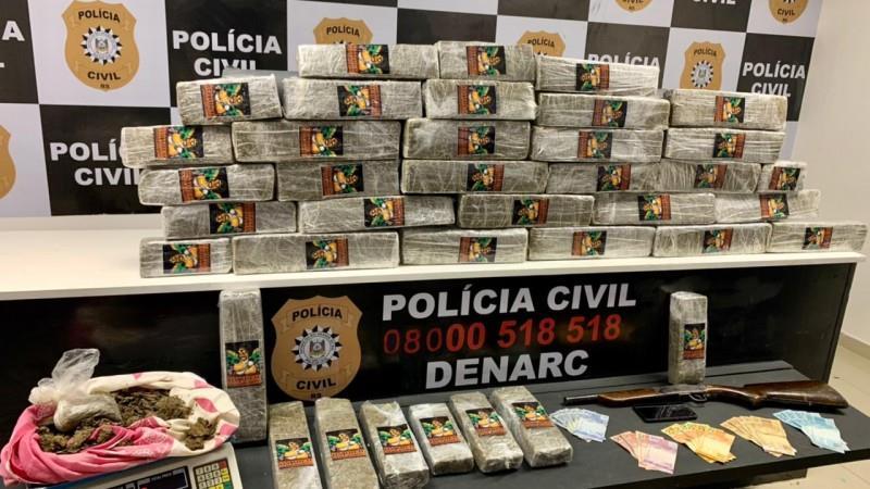 Ação da Polícia Civil foi realizada nesta segunda-feira