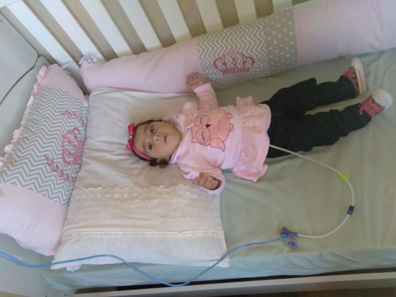Eduarda Santana Pereira nasceu prematura