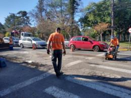 Motoristas precisam ter um pouco mais de de paciência ao circular pelo centro de Santa Cruz do Sul