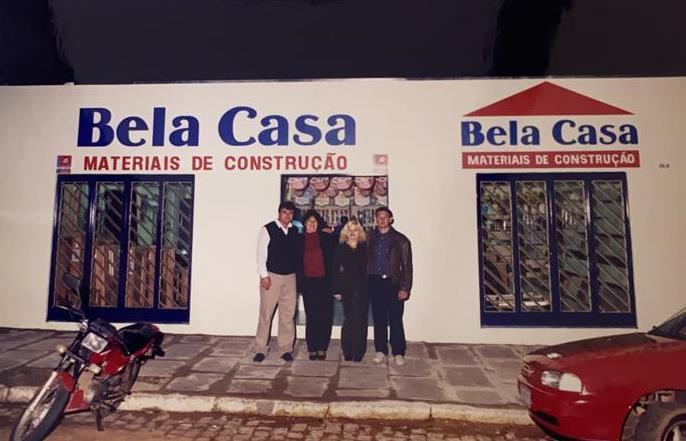 Há 21 anos, na inauguração da empresa