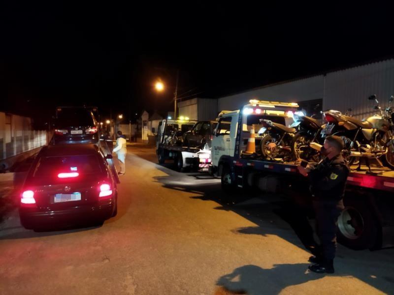 Ação foi realizada pela Fiscalização de Trânsito, Guarda Municipal e Brigada Militar