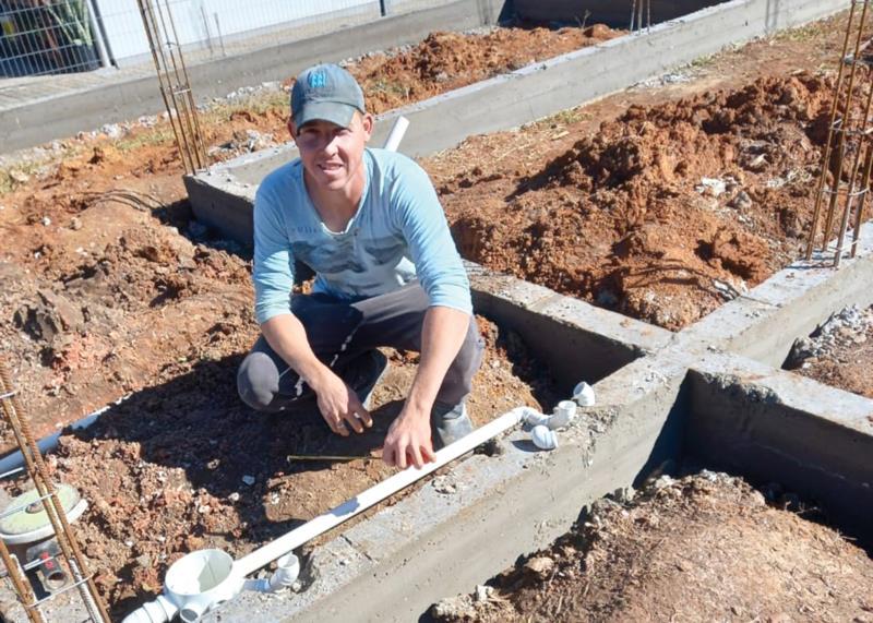 Michel tem se dedicado exclusivamente à construção civil