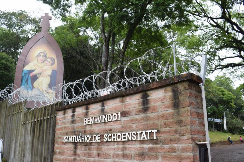 Espaço do Santuário de Schoenstatt na BR-471 ficará aberto em três dias da semana