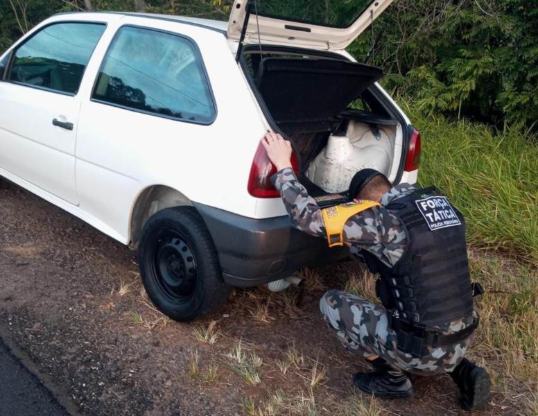 Prisão foi realizada pelo 2º Batalhão Rodoviário da Brigada Militar