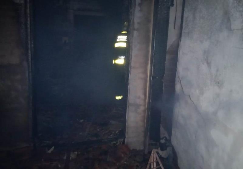 Incêndio destrói residência no interior de Venâncio Aires