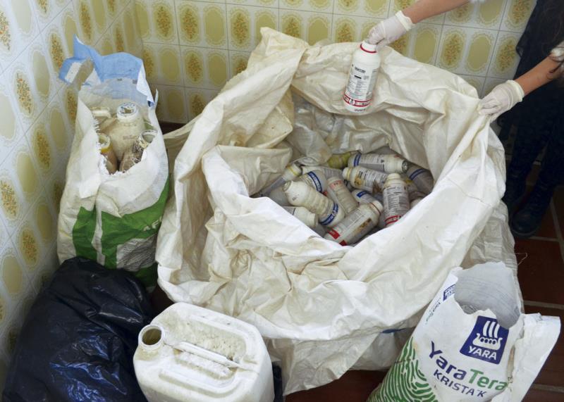 Entrega de embalagens de agrotóxicos foi na quarta