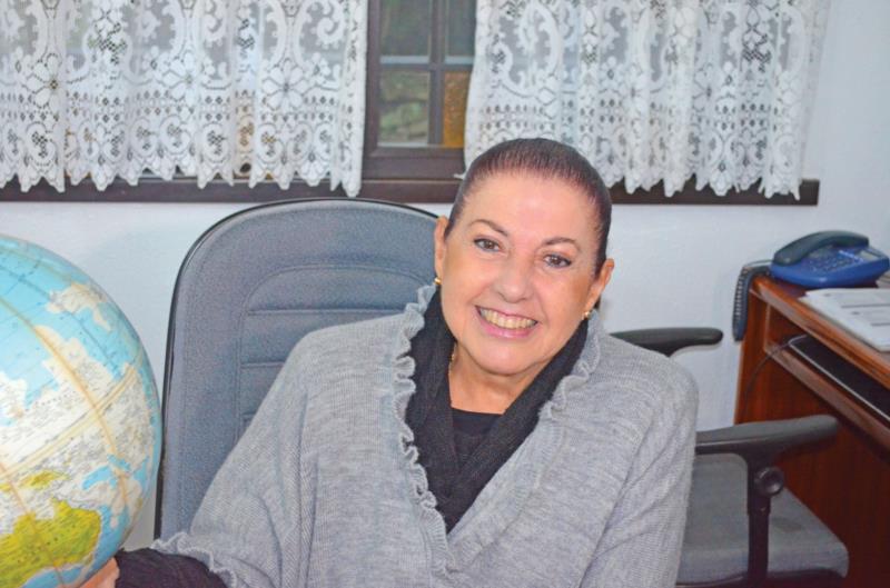Magda Schwab Accorsi trabalhou no Mesquita e participou do crescimento de centenas de alunos vera-cruzenses