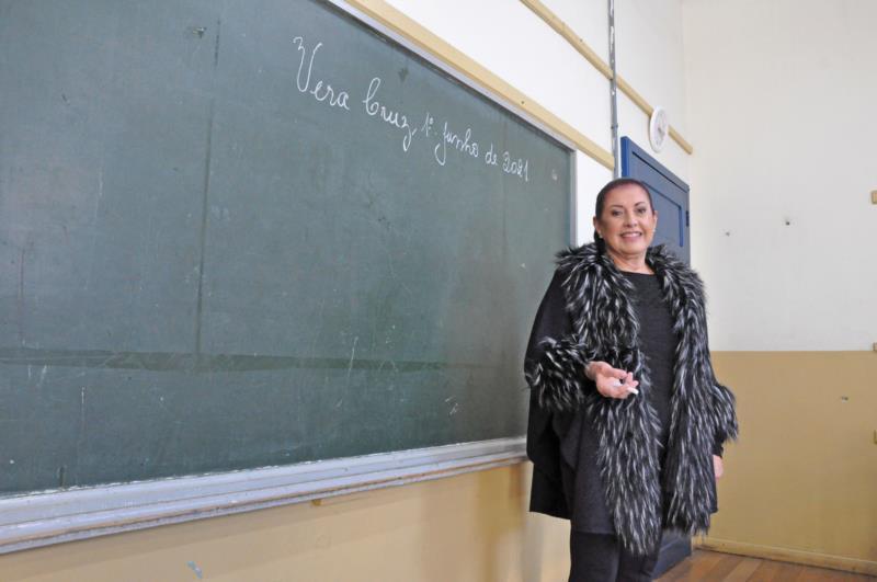 No período em que foi professora, Magda dava aula principalmente para a 4ª série